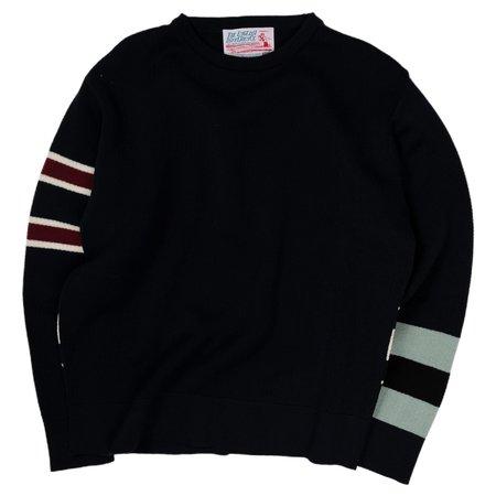 Garbstore TED College Crew Sweater - Navy