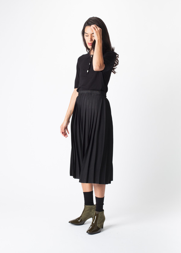 You Must Create Pleats Skirt