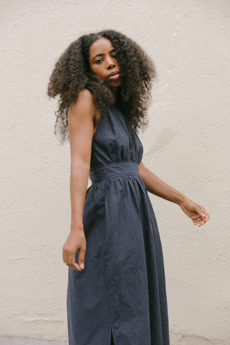 Kordal Arianne Dress in Indigo