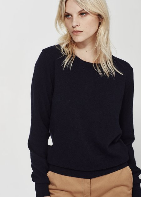 Laing Home The Essential Cashmere Crew sweater - Ink