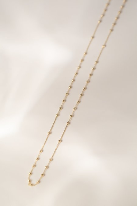 "Vale Jewelry 18"" Rosary Necklace - 14k yellow gold"