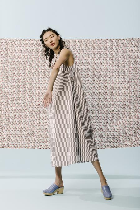 Carleen Umbrella Maxi Dress in Earth