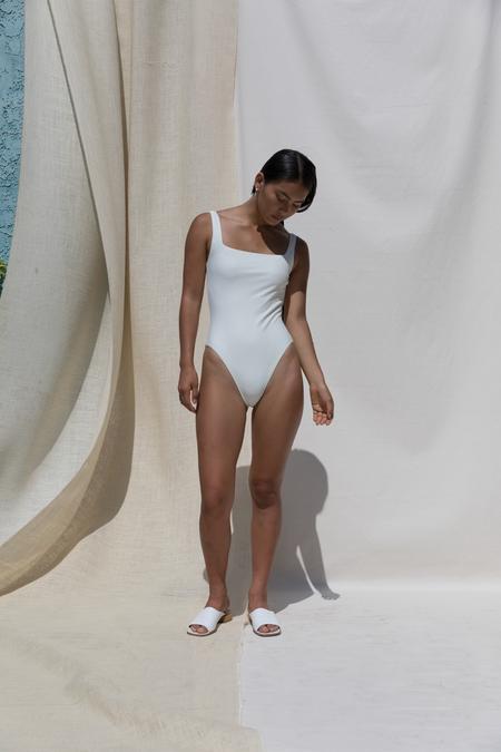 Pari Desai Sylph Swimsuit in Milk