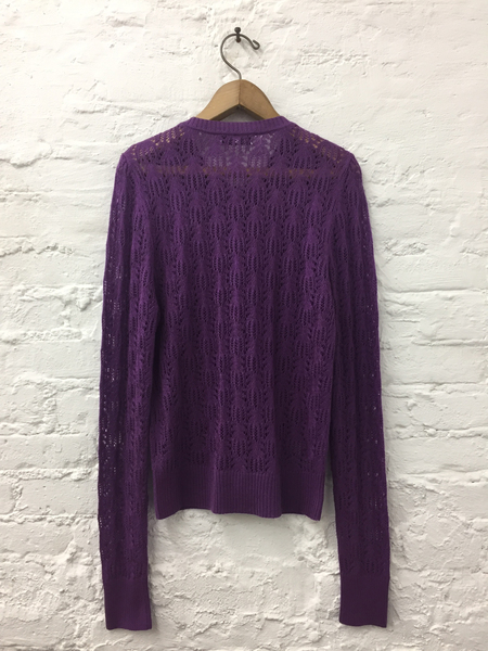 A Détacher Kana Cardigan in Orchid