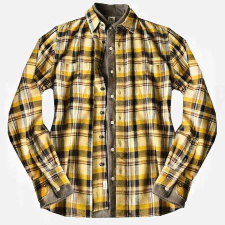 KATO Neppy Shirt - Yellow Plaid