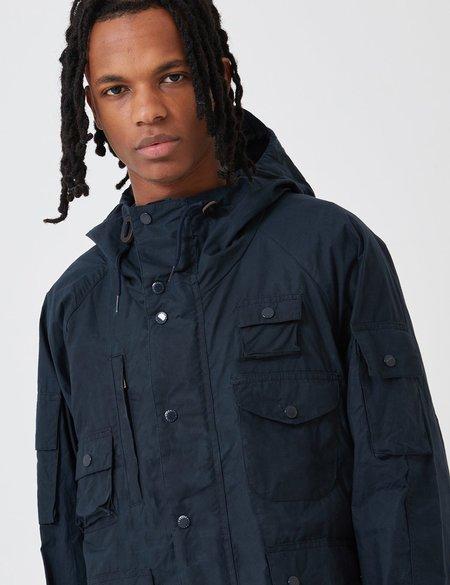 Barbour x Engineered Garments Thompson Jacket - Vulcan Navy Blue