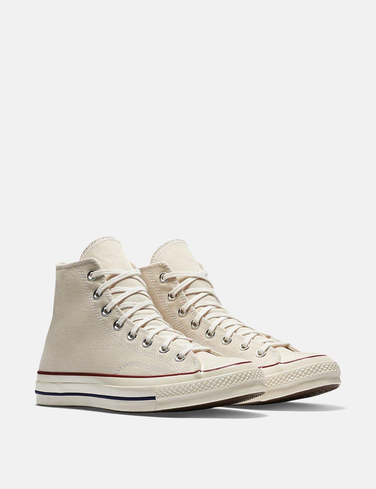 Converse 70's Chuck Taylor Canvas Hi Sneakers - Ecru