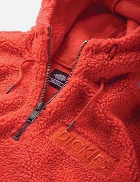 Dickies Esmont Hooded Fleece - Orange