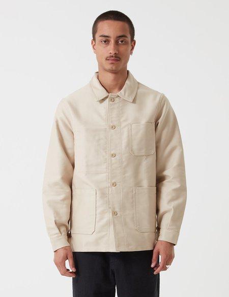 Le Laboureur Moleskin Work Jacket - Ecru