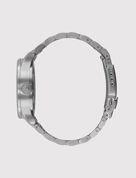 Nixon Sentry 38 SS Watch - Grey/Rose Gold