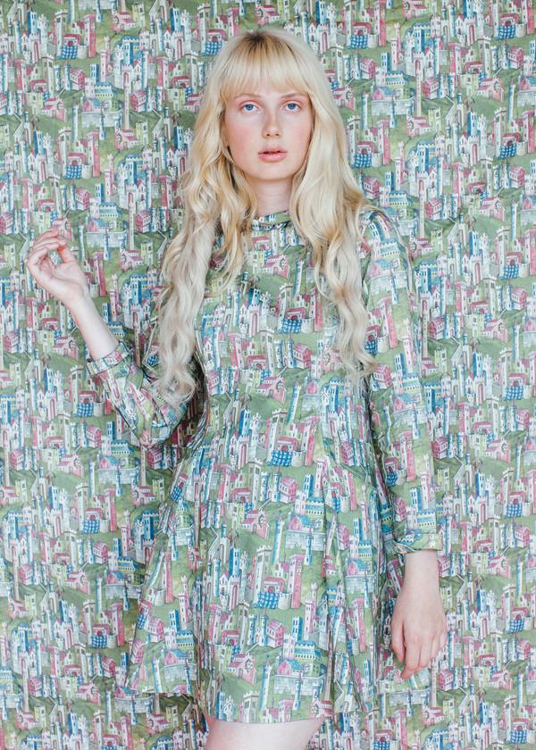 Passion Dress - Castle Print