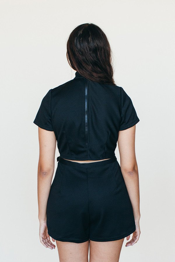 Shooting Star Shorts - Black
