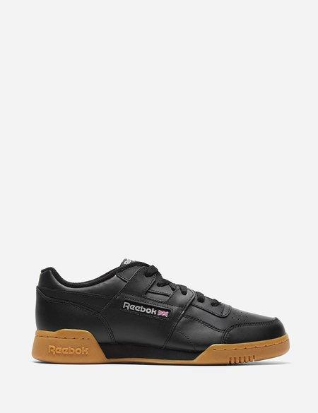 Reebok Workout Plus Gum Sole CN2127 Sneaker - Black/Carbon/Classic Red