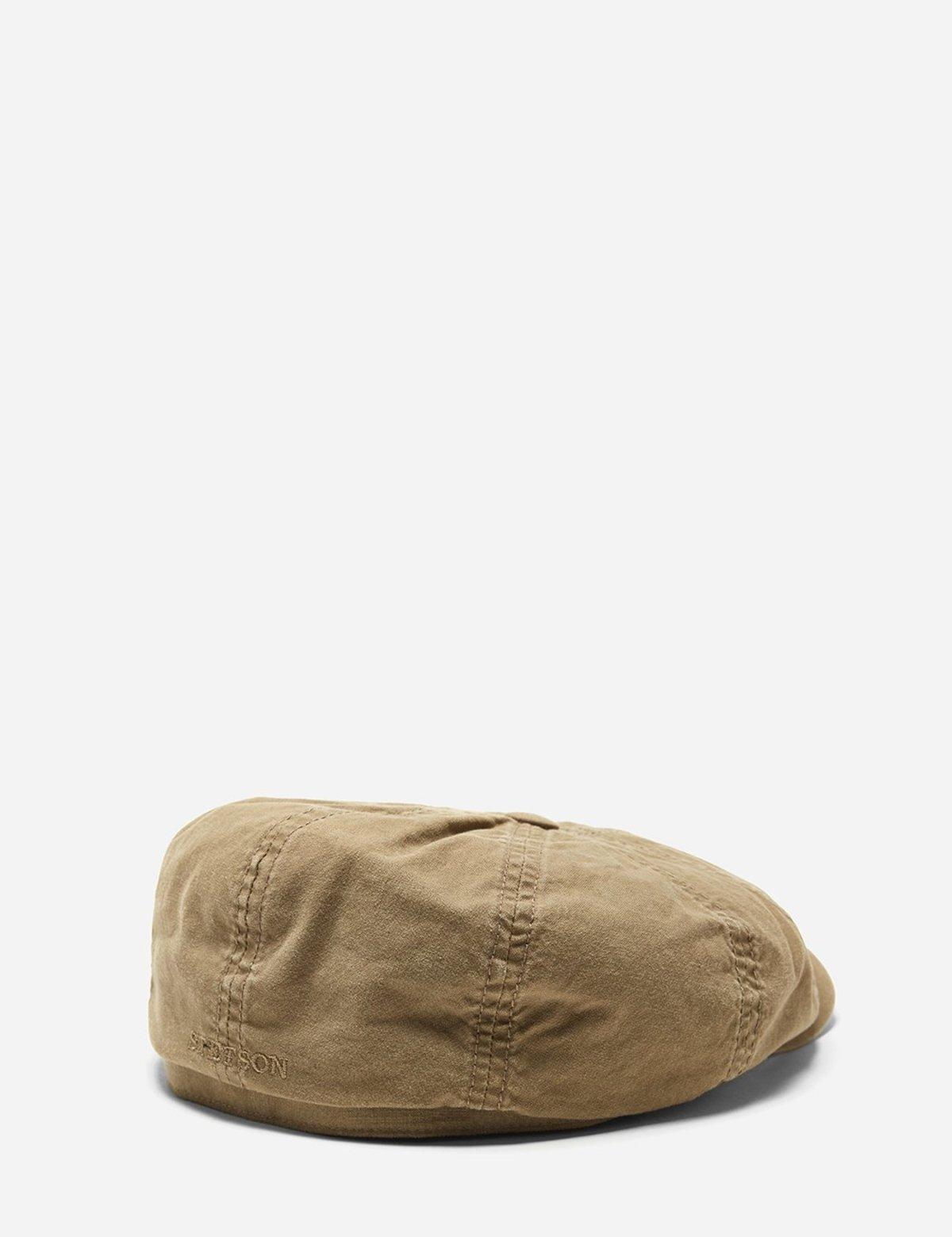 137b3b56766bc6 Stetson Hats Stetson Hatteras Delave Organic Cotton Newsboy Cap ...