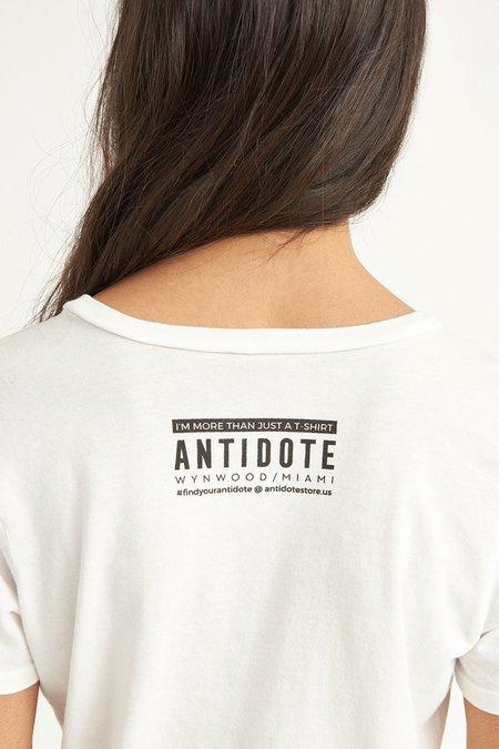 Antidote Wynwood Rainbow Tee - WHITE