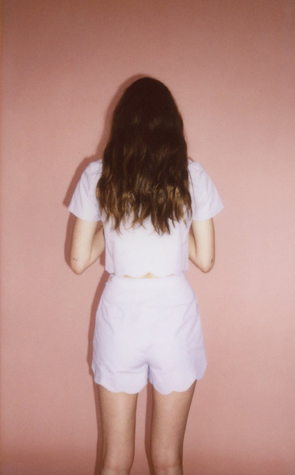 Wave shorts - lavendar
