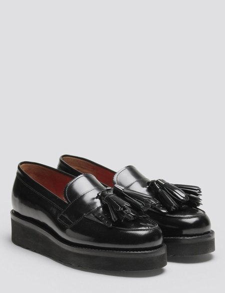 Grenson Clara Tassel Loafer - Black