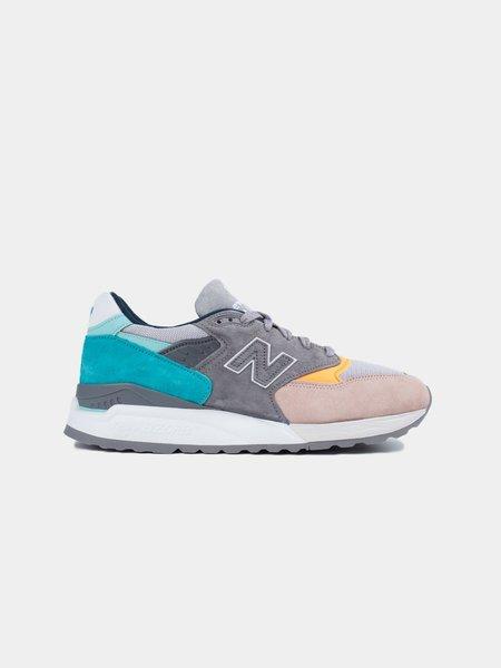 New Balance M998AWB Sneakers - Sand/Aqua
