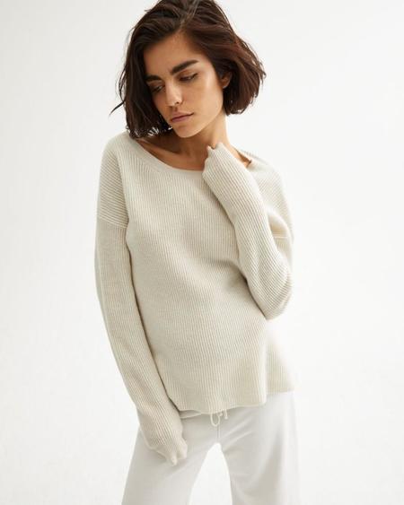 Nili Lotan Hadis Sweater - IVORY