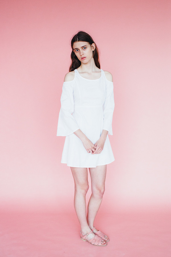 Samantha Pleet Moon Dress - Ivory