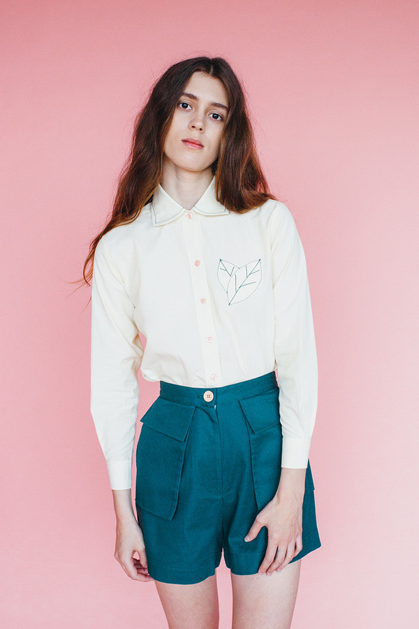 Samantha Pleet Park shorts - forest