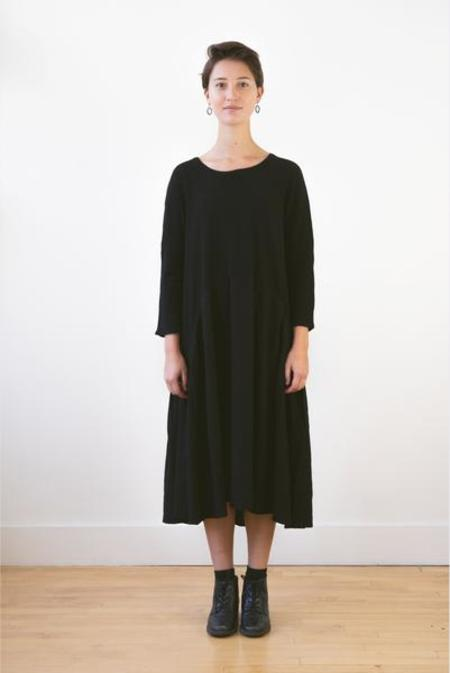 Kapital Wool Jersey Aurora Dress - Black