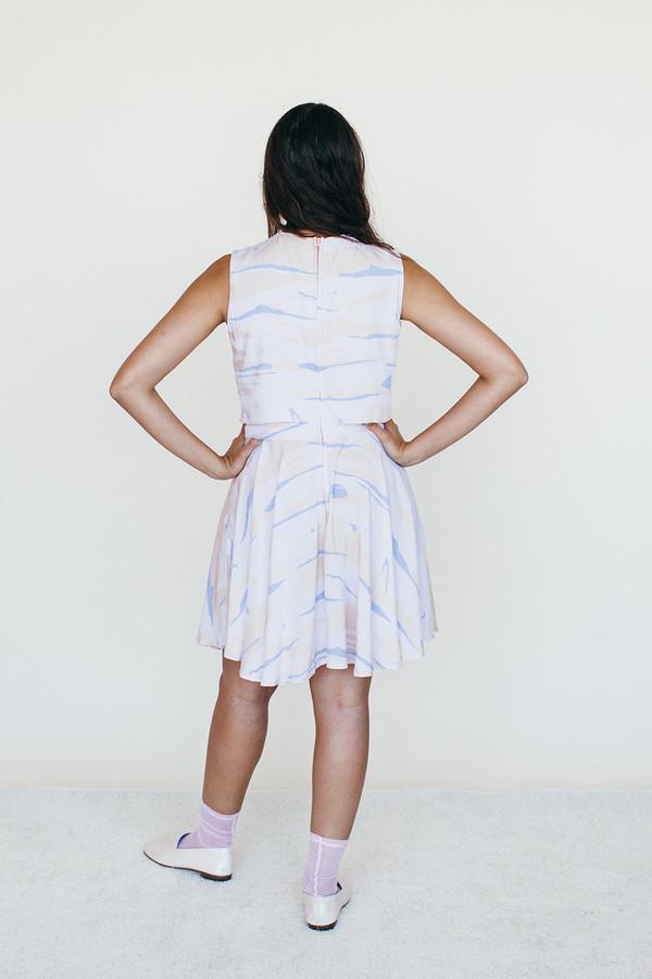 Samantha Pleet Strata Dress - Landscape