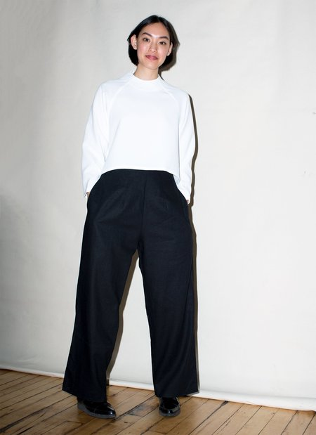 KAAREM Var Oversized Relaxed Pocket Pant - Black