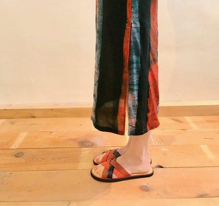 Rachel Comey Wheel Sandal - Tomato Multi