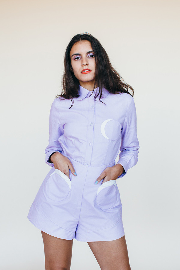 Samantha Pleet Moon Shirt - Lavendar