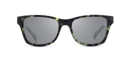 Shwood Canby Acetate Elm Burl Sunglasses - Dark Forest
