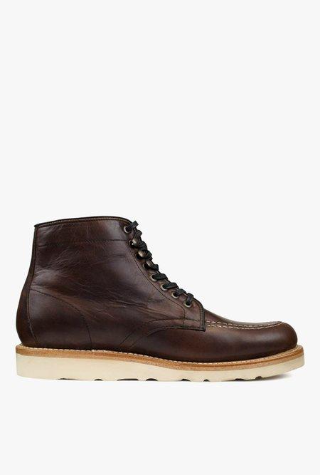 Sutro Footwear Ellington boot - Mahogany Vibram