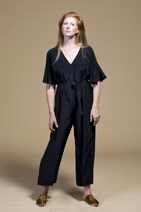 WINSOME Dolores Reversible Jumpsuit - BLACK