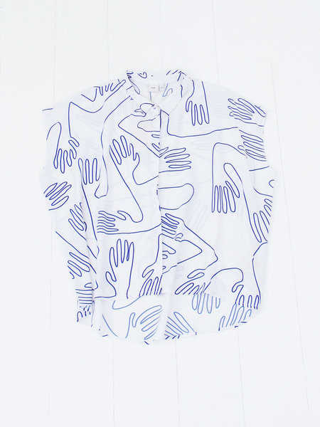 Elk Sentosa Shirt - Handy Work White