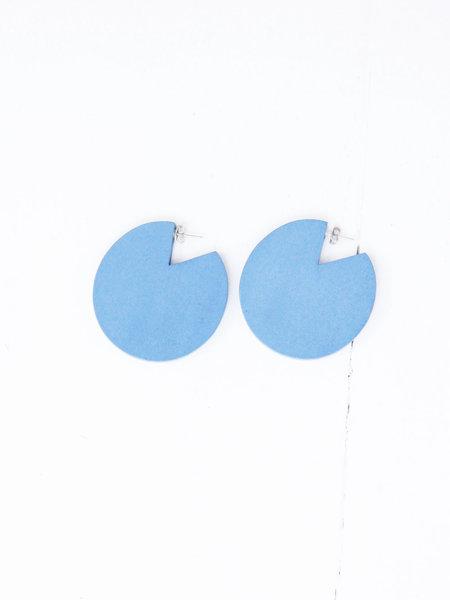 Elk Dorf Cut-out Earring - Preppy Blue