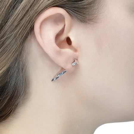 Lauren Klassen Diamond Nail Earring