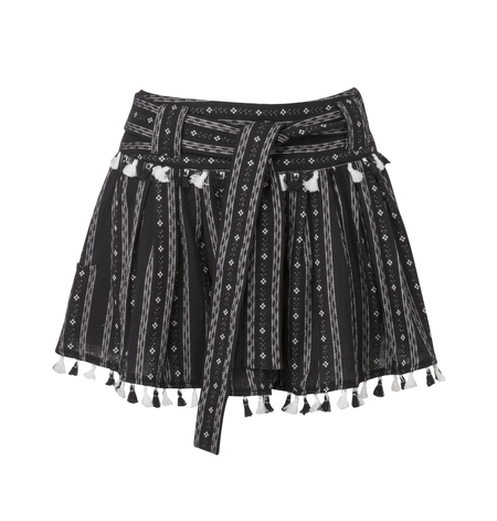 Dodo Bar Or Inga Mini Skirt - Black