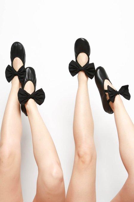 Repetto Sophia x Sia Big Bow Ballet Flat - Noir