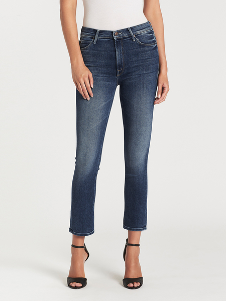 Mother Denim The Mid Rise Dazzler Ankle Jean - Satisfaction Guaranteed