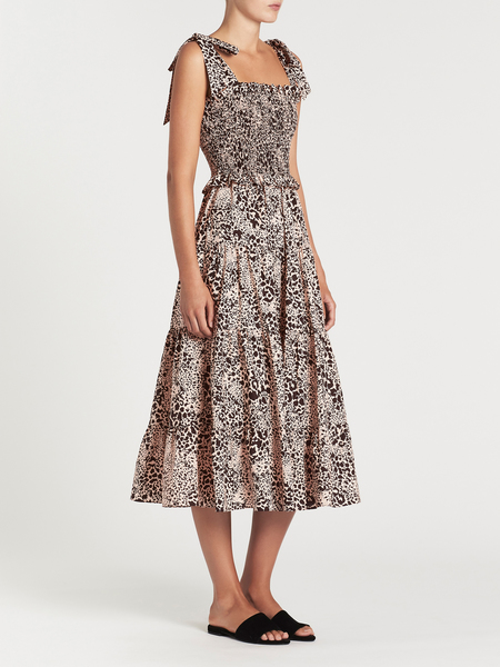 Rebecca Taylor Sleeveless Dress - Leopard