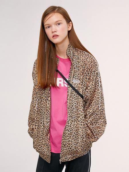 Unisex Kirsh Track Jacket - Leopard