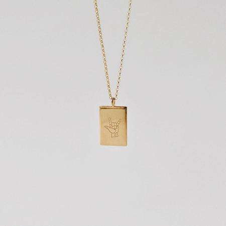 Apse Adorn FTND X APSE Pendant - Gold