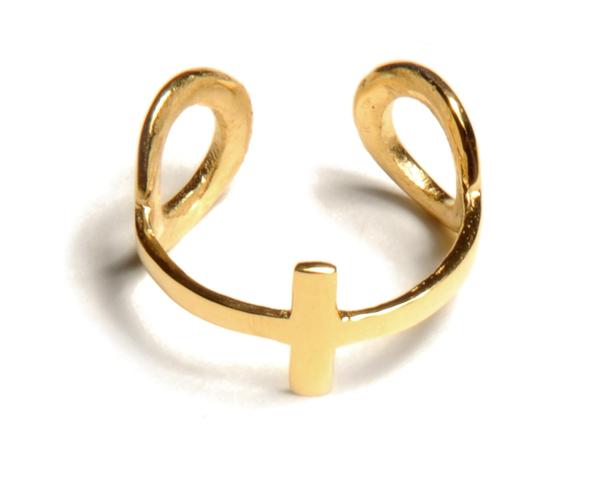 Alynne Lavigne Double Loop Ring