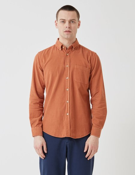 6e483a73ee2 ... Portuguese Flannel Lobo Shirt - Brick Orange