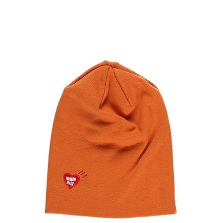 6c8c57c908c Human Made Embroidered Logo Beanie - Orange
