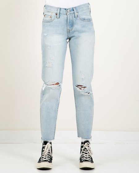 Levi's 501 CROPPED TAPER JEAN - PART TIME LOVER