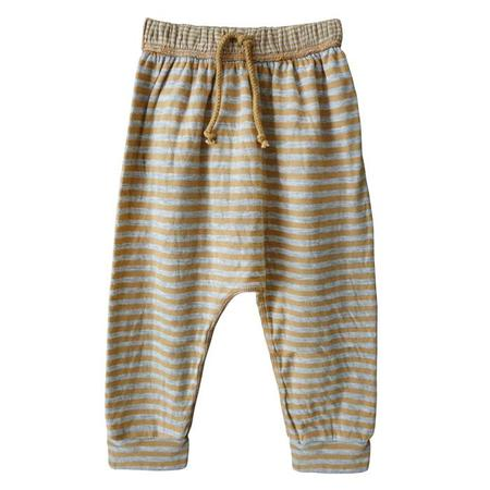 942d7267 KIDS Nico Nico Stone Harem Pants - Mustard Yellow Stripes