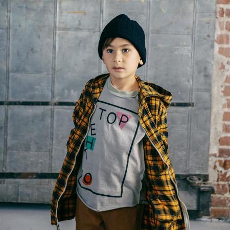 Kids Nico Nico To The Top Long Sleeved T-Shirt - Granite Grey