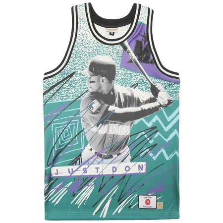 Just Don Pippen & Grant Graphic Jersey - Multi Color