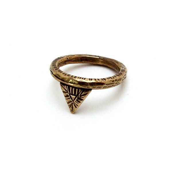 Laurel Hill Triangle Relic Ring